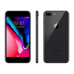 Iphone 8 Plus - 256GB - Preto - Vitrine
