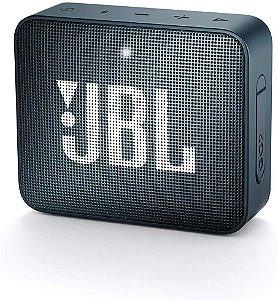 Caixa de som JBL GO 2 portátil  - Azul Petroleo Navy