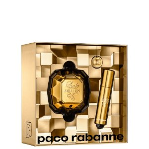 Paco Rabanne Kit Lady Million Perfume 80ml + Perfume 10ml
