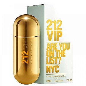 Perfume Carolina Herrera 212 Vip Eau De Parfum - Perfume Feminino - 80Ml