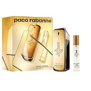 Kit Paco Rabanne 1 Million Edt 100ml + Travel Spray 20ml