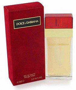 Perfume Dolce Gabbana Eau De Toilette Feminino 100Ml