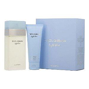 Kit Dolce & Gabbana Light Blue EDT 100ml + Body Cream 75ml