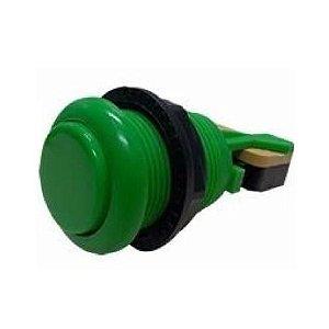 Botão Nylon Verde com Micro  mecânica