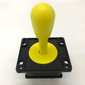 kit pronto para  Montar e jogar >>Comando e 11 Botões Amarelos + 11 micros mecânicas+ Sensor + Zero Delay+ Chicote+ cabo Usb