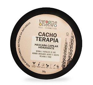 Máscara Capilar Hidratante Cacho Terapia - 200g Vegana e Natural - TWOONE ONETWO