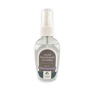 Loção Higienizante Álcool 70% Lavanda e Tea Tree Orgânico Natural e Vegano 60 ml - CATIVA NATUREZA