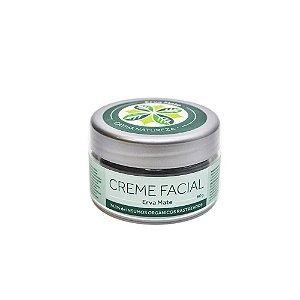 Creme Facial Erva Mate Orgânico Natural e Vegano 60 g - CATIVA NATUREZA