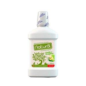 Enxaguante Bucal com Limão e Gengibre 250 ml - NATURAL CONTENTE