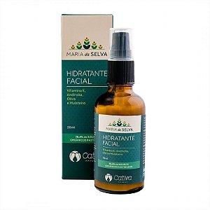 Hidratante Facial Maria Da Selva Orgânico Natural e Vegano 50 ml - CATIVA NATUREZA