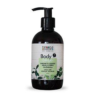 Sabonete Liquido Sulfate Free Calêndula - 250g Vegano e Natural - TWOONE ONETWO