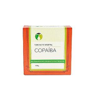 Sabonete Vegetal de Copaíba Orgânico Natural e Vegano 100g - CATIVA NATUREZA