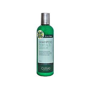 Shampoo Fortalecedor Erva Mate Natural Orgânico e Vegano 240 ml - CATIVA NATUREZA