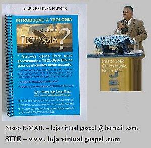 Livro introdução a teologia capa espiral