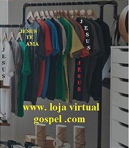 Camisas silkadas Jesus te ama aguarde