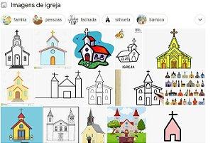 Produtos da Igreja evangélica tal