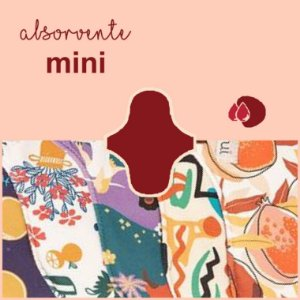 Absorvente Korui MINI - Estampado
