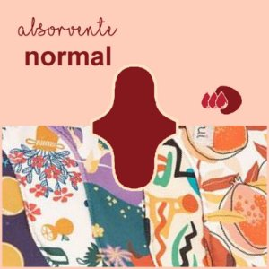 Absorvente Korui Normal - Estampado