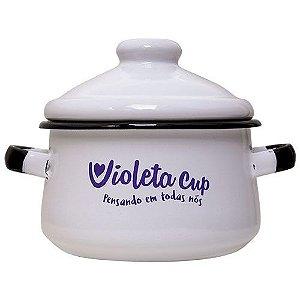 Panelinha Esmaltada Violeta Cup
