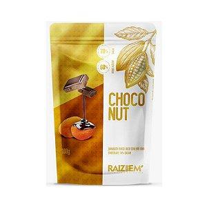 Damasco Seco Coberto com Chocolate 70% Cacau - Raiz do Bem 100gr