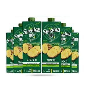 Kit C/ 6 Unidades - Suco De Abacaxi 1l - Suvalan