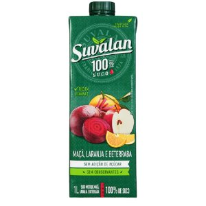 Suco de Maça,Laranja e Beterraba - Suvalan 1L