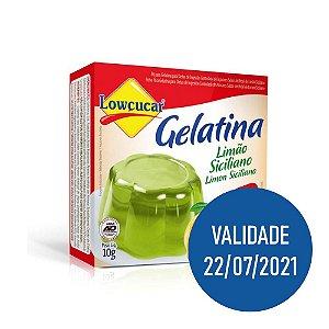 Gelatina Zero Limão Siciliano - Lowçucar 10gr