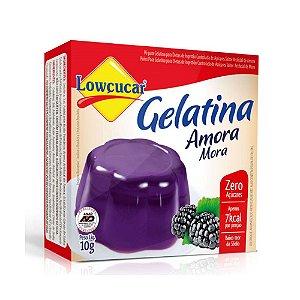 Gelatina Zero Amora - Lowçucar 10gr