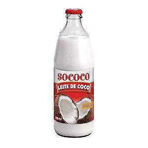 Leite De Coco Tradicional Vidro - Sococo 500ml