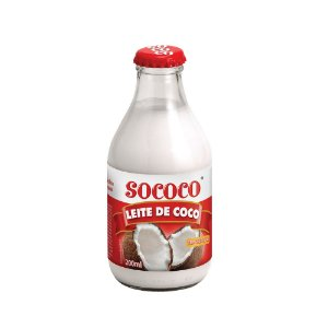 Leite De Coco Tradicional Vidro - Sococo 200ml
