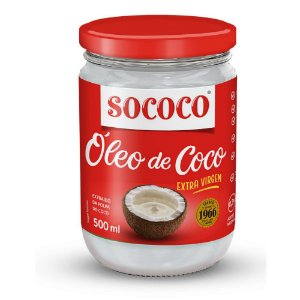 Óleo de Coco Extra Virgem - Sococo 500ml