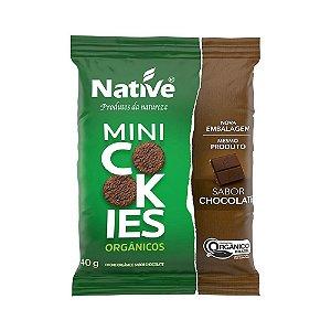 Mini Cookie Orgânico Chocolate - Native 40gr
