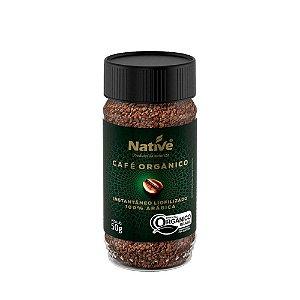 Café Instantâneo Orgânico - Native 50gr