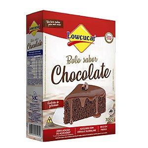 Bolo De Chocolate Zero - Lowçucar 300gr