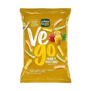Snack Vego Mostarda e Mel - Roots To Go 30gr