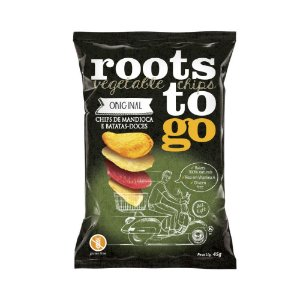 Chips de Mandioca e Batata Doce - Roots to Go 45gr