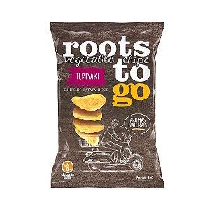 Chips de Batata Doce Sabor Teriyaki - Roots to Go 45gr