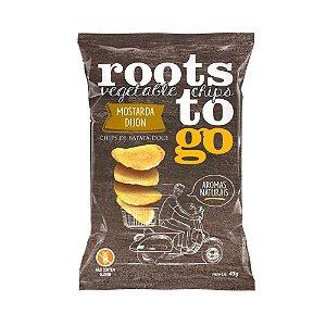 Chips de Batata Doce Sabor Mostarda Dijon - Roots to Go 45gr