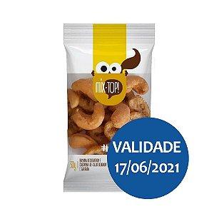Mix de Castanha de Caju e Banana Desidratada - Raiz do Bem 30gr
