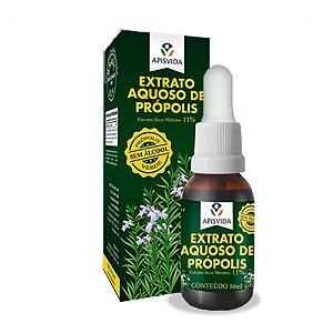 Extrato Aquoso de Própolis verde 11% - Apis Vida 30ml