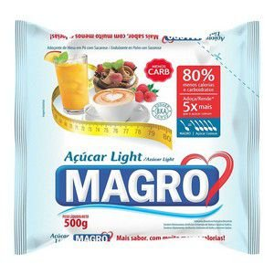 Açúcar Light - Magro 500gr