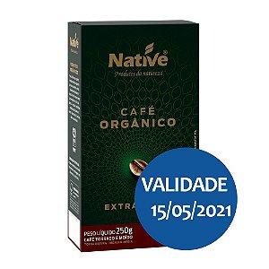 Café Orgânico Torrado e Moído Extra Forte - Native 250gr