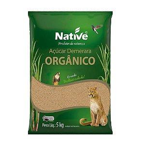 Açúcar Orgânico Demerara - Native 5kg