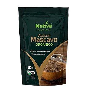 Açúcar Mascavo Orgânico - Native 250gr