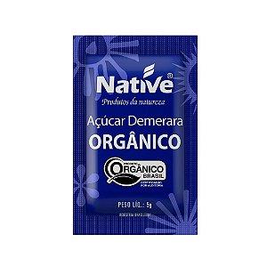 Açúcar Demerara Orgânico 200 Sachês de 5gr - Native