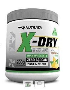 X-Dry Sabor abacaxi com hortelã 200g Nutrata