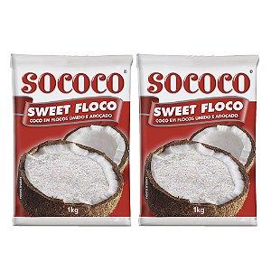 Kit C/ 2 Unidades Sweet Floco - Sococo 1kg