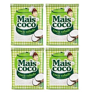 Kit C/ 4 Unidades Coco Ralado - Mais Coco 50gr