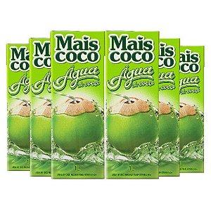 Kit C/ 6 Unidades Água de Coco - Mais Coco 1L