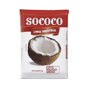 Coco Ralado Medio - Sococo 5Kg